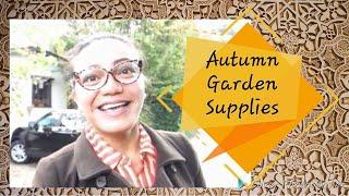 My Autumn 2018 Basic Home & Garden Shopping List