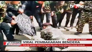 Viral Flag Burning in Garut, West Java