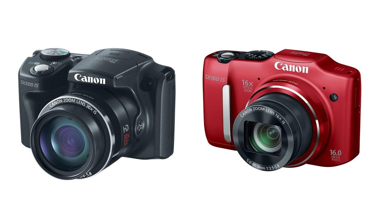 Купить цифровой фотоаппарат Canon PowerShot SX5