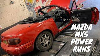 Mazda MX5 Did it Survive a Power Run?