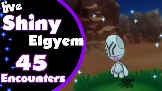 Shiny Elgyem 45 Encounters!