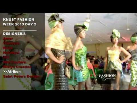 [HQ] KNUST Fashion Week 2013 - Day 2: Full Show