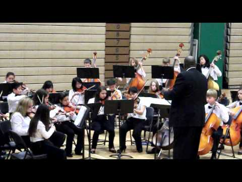 """Walking Basses"" by the Olympic View middle school orchestra 12-13-2011"