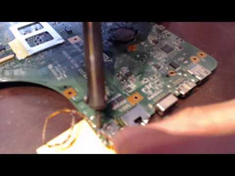 Asus A53E A53E-TH51 K53E laptop power jack repair fix replacement port connector socket
