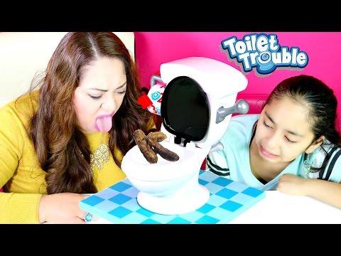 TOILET TROUBLE CHALLENGE| We Drank PEE!! B2cutecupcakes