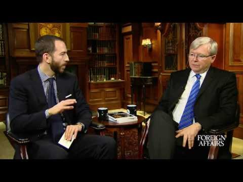 Kevin Rudd on Chinese Regional & Global Relations
