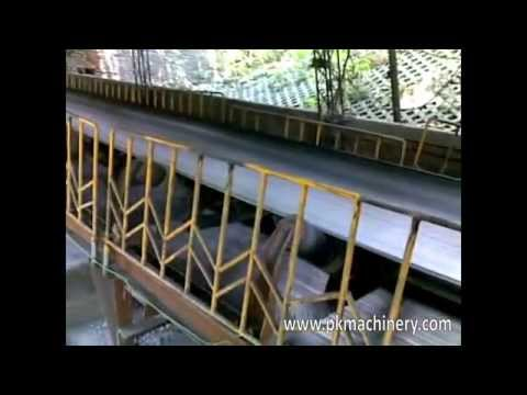 Fixed Belt Conveyor for Coal Onsite