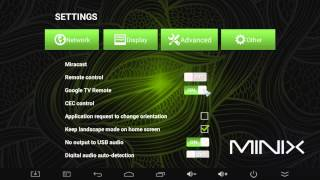 New Firmware for Minix NEO X8-H - Excellent New Features Preview