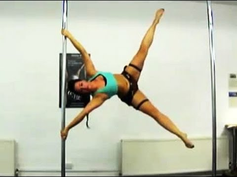 Tomb Raider 2013: Lara Croft Themed Advanced Pole Tricks