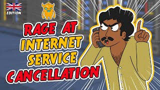 Internet Service Cancellation MELTDOWN (UK) - Ownage Pranks