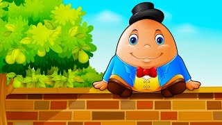 Humpty Dumpty - Animated English Rhymes for Children - Nursery Rhymes and Kids Songs