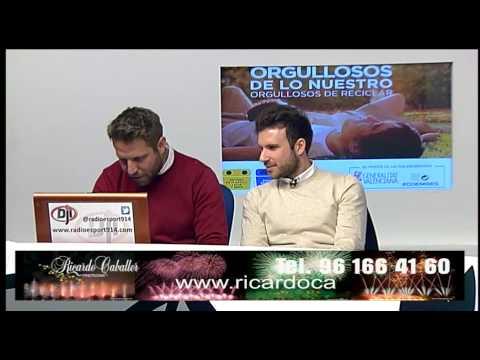 Deportes con Julio Insa - Entrevista a Álvaro Negredo 25-3-15