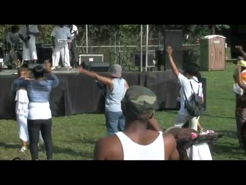 Valerie Adams featuring the Dimensions Band Irvington Unity Day 2012