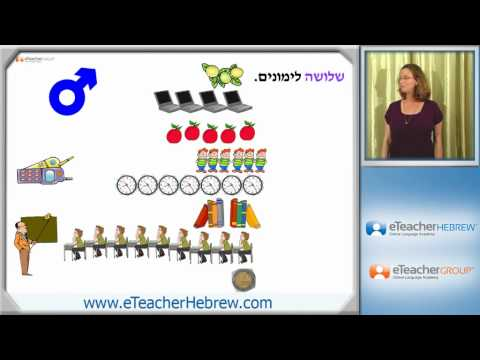 Learn Hebrew - lesson 16 - Counting objects | by eTeacherHebrew