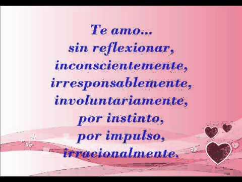 Te Amo - Pablo Neruda