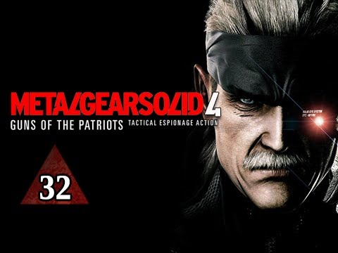 Metal Gear Solid 4 Walkthrough - Part 32 Boss Vamp Let's Play Mgs4 Gameplay Commentary video