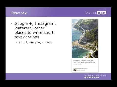 Digital Ready Webinar - Writing for social media