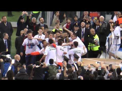 Finale Coppa Italia Fiorentina-Napoli 1-3 03-05-14 Premiazione Finale Live in HD