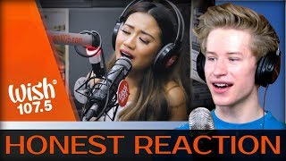 "HONEST REACTION to Morissette performs ""Never Enough"" (The Greatest Showman OST) LIVE"