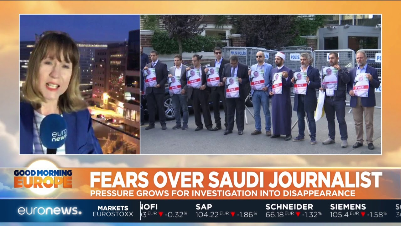 #GME |  Fears over missing Saudi journalist Jamal Khashoggi