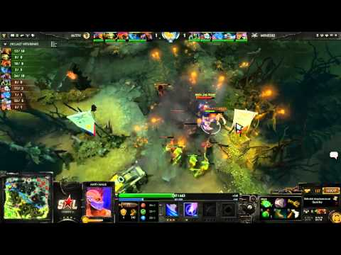 The International 3 East Quali  Group B  Mineski vs MiTHTrust game 2