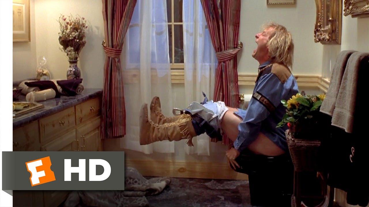 Dumb dumber 4 6 movie clip the toilet doesn39t flush for Jeff daniels bathroom scene