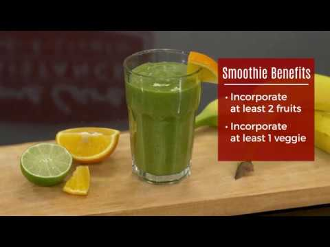 Nutritious Green Matcha Smoothie for Seniors