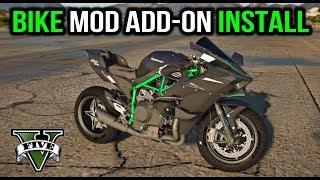 How to Install Bike Mods in GTA 5 (Kawasaki Ninja H2 & H2R)