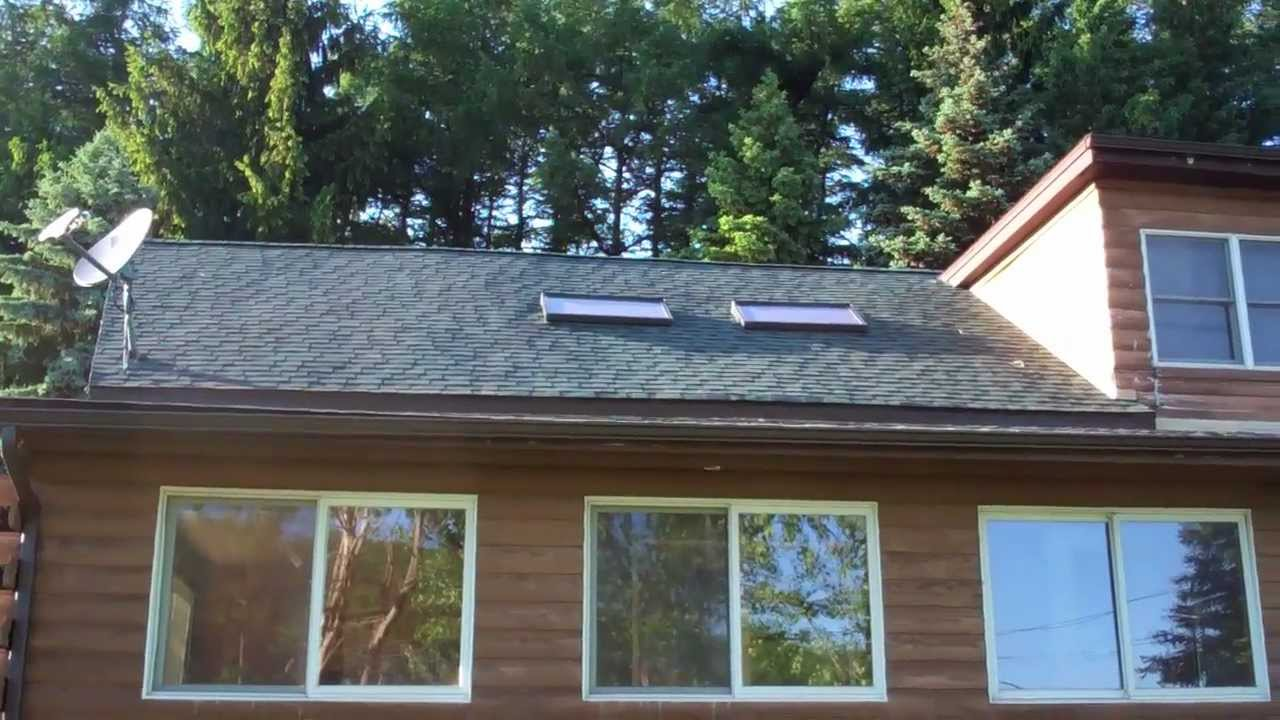 Our New Roof Owens Corning Duration Shingles Youtube
