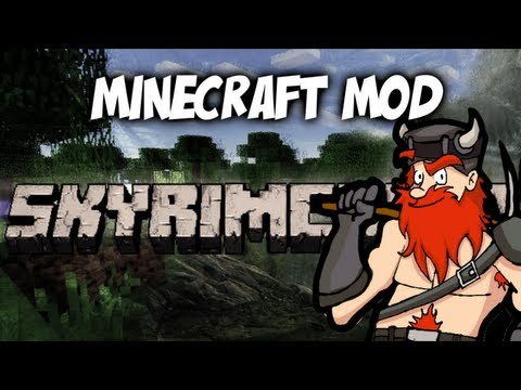Minecraft - SkyrimCraft Mod Spotlight Music Videos