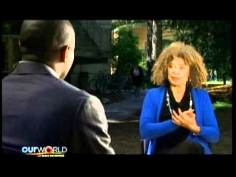 Marc Lamont Hill with Our World -Interview with Angela Davis 5-29-11 pt.2.