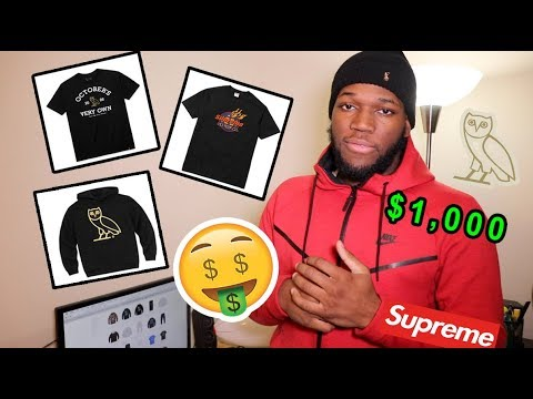DROPPED $1,000 ON OCTOBER'S VERY OWN AND SUPREME WEEK 17 CLOTHING (UNBOXING) ‼️