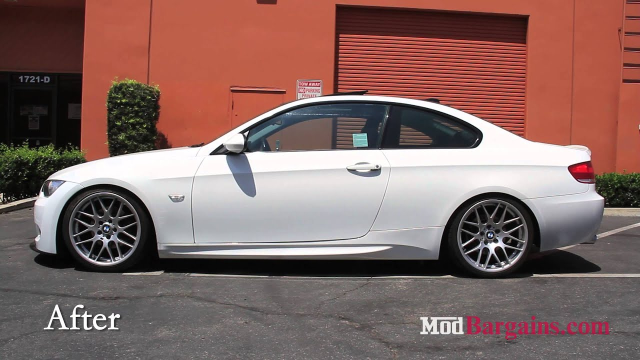 2008 E92 Bmw 328i Recieves St Suspension Coilovers At