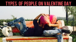 Types Of People On Valentine Day | Harsh Beniwal