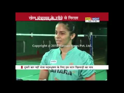 Badminton player Saina Nehwal upset after Sports Ministry rejects application for Padma Bhushan