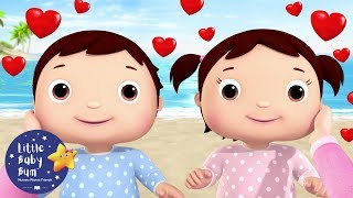 I Love My Family | Valentines Day Songs for Kids | Little Baby Bum