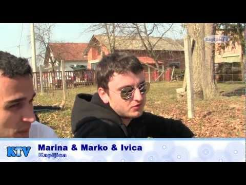 KapljiceTV - Križni put mladih 2013. g. - Svjedočanstva s križnog puta