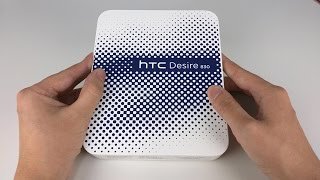 HTC Desire 830 Unboxing and First Look