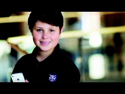 12-year-old creates app for Apple