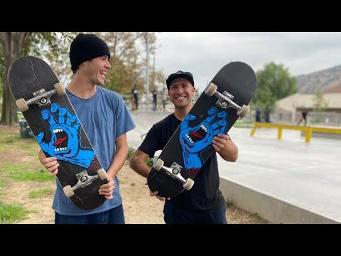 8.6 SCREAMING HAND WITH BRIAN O'DWYER PRODUCT CHALLENGE | Santa Cruz Skateboards