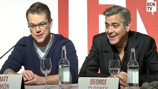 George Clooney & Matt Damon Reveal On Set Pranks