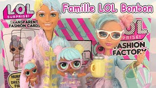 LOL Family Bonbon Familles Poupées LOL Surprise Fashion Factory Game