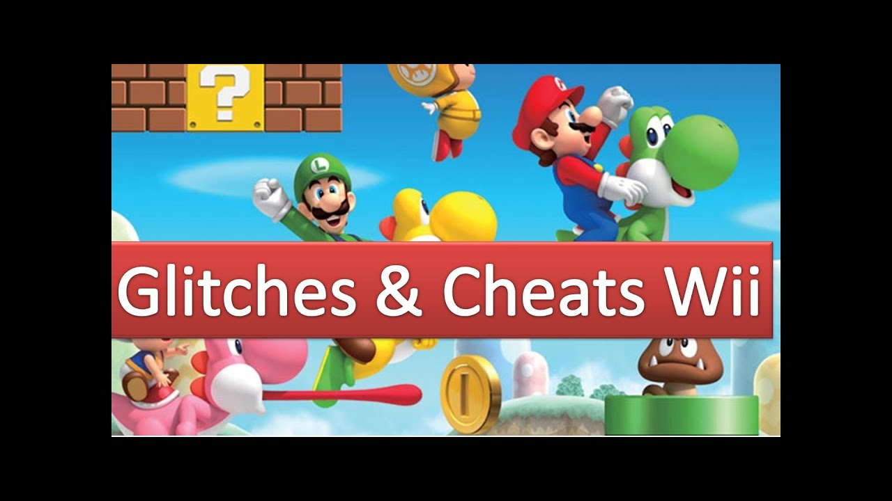 wii super mario bros cheats