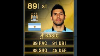 FIFA 14 IF AGUERO 89 Player Review & In Game Stats Ultimate Team