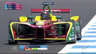FORMEL E MEXICO CITY SUPER POLE RUNDE | Daniel Abt