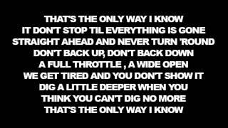 Download Lagu [Lyrics] Jason Aldean - The Only Way I Know ft Luke Bryan & Eric Church Gratis STAFABAND