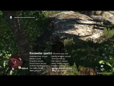 Assassin's Creed IV: Black Flag - All treasure location (1/2)