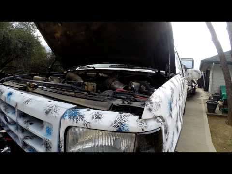 Fuel Vapor Carburetor on 7.3 diesel test propane and gas part 1