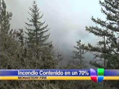 """Incendio """"Monastery"""" Contenido en un 70%"""