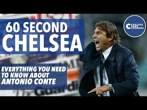 All You Need to Know About Antonio Conte | Squawka Collaboration